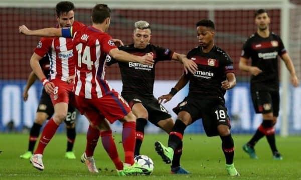 Предварительный прогноз и советы на поединок Байер - Атлетико Мадрид