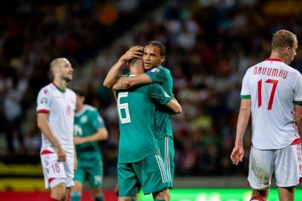 Предварительный прогноз и ставки на футбольный матч Германия - Беларусь