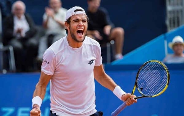 Роджер Федерер - Маттео Берреттини прогноз на турнир АТР по теннису 12 ноября