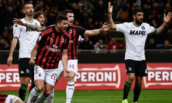 Милан - Сассуоло прогноз на матч Итальянской Серии А 15 декабря